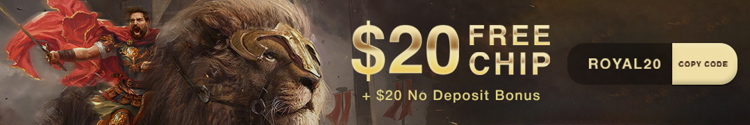 Golden Lion Casino free chip